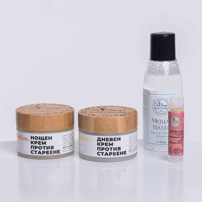 Комплект натурални продукти за лице