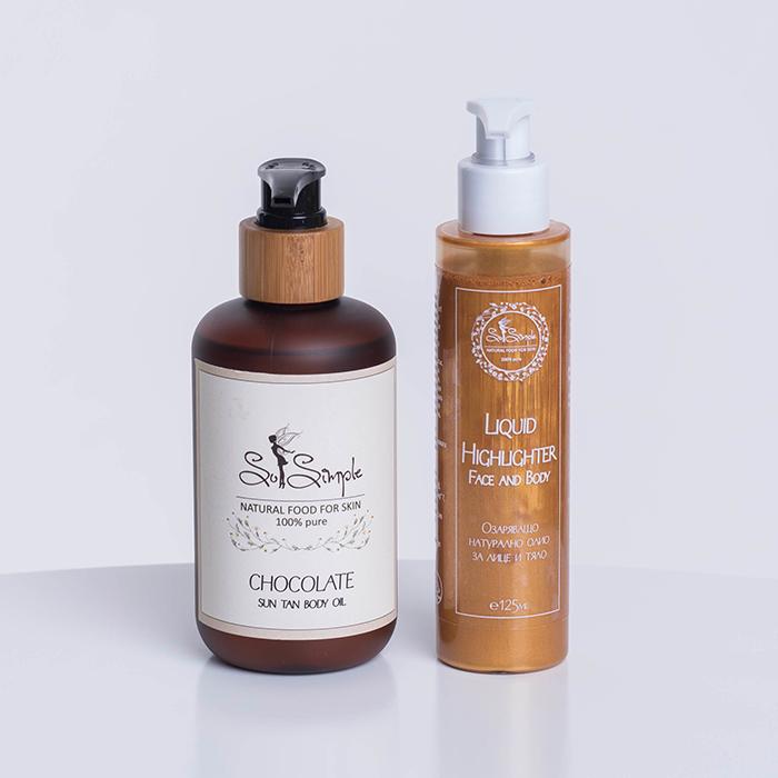 Комплект за естествен тен – Perfect tan