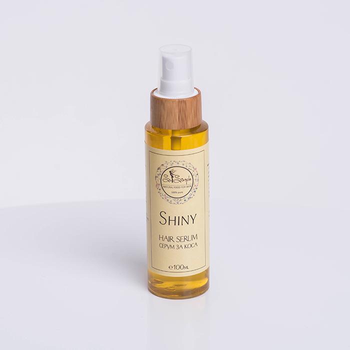Натурален серум за коса SHINY 100мл